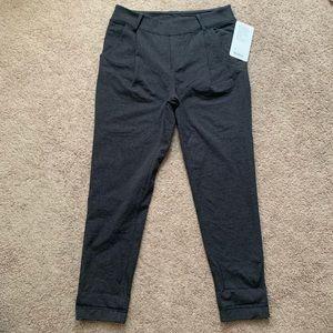 Lululemon Charcoal Gray Stress Less Trouser Pants